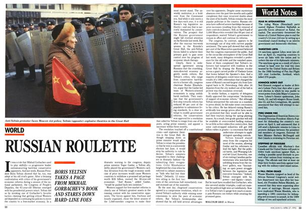 Article Preview: RUSSIAN ROULETTE, April 1992 | Maclean's