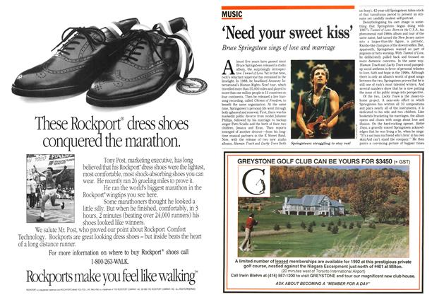 Article Preview: 'Need your sweet kiss', April 1992 | Maclean's