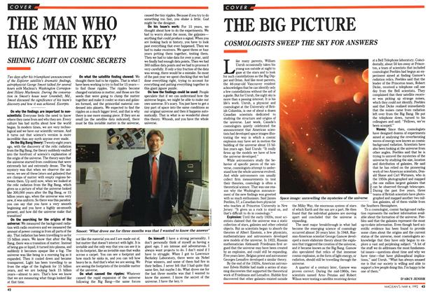 Article Preview: THE MAN WHO HAS 'THE KEY', May 1992 | Maclean's