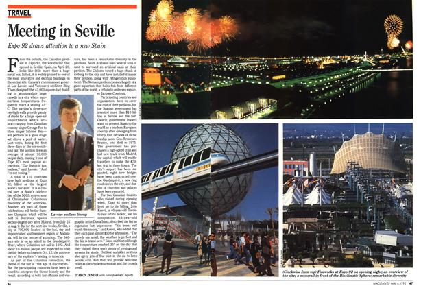 Article Preview: Meeting in Seville, May 1992 | Maclean's