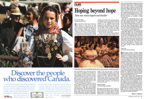 Article Preview: Hoping beyond hope, May 1992 | Maclean's