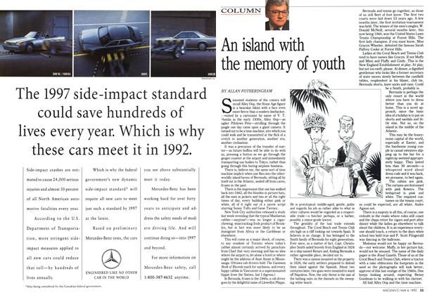 Article Preview: An island with the memory of youth, May 1992 | Maclean's