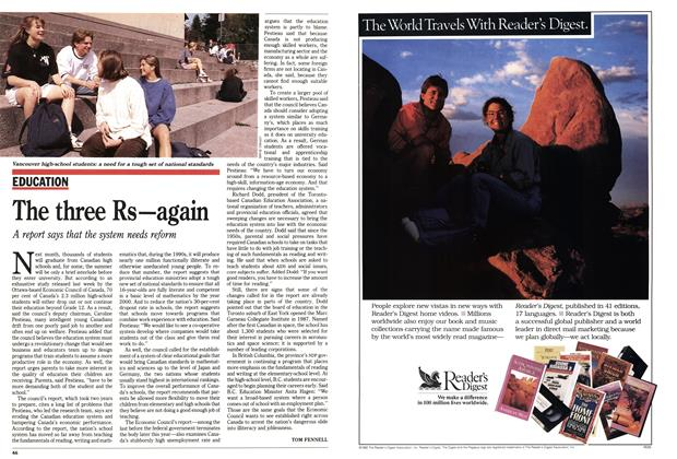 Article Preview: The three Rs—again, May 1992 | Maclean's