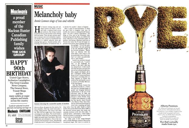 Article Preview: Melancholy baby, May 1992 | Maclean's
