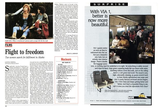 Article Preview: Flight to freedom, May 1992 | Maclean's