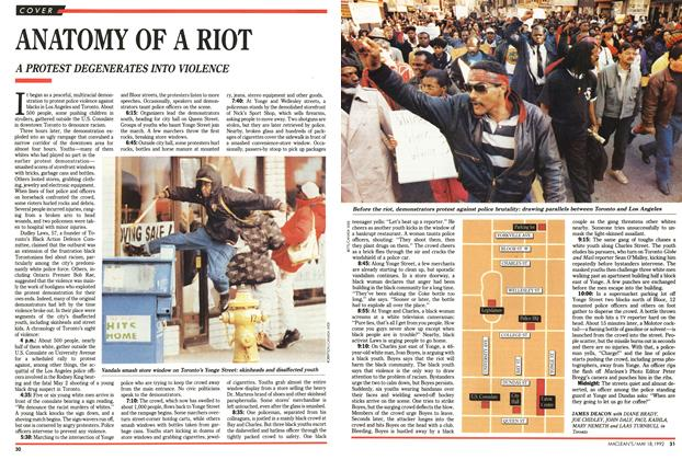 Article Preview: ANATOMY OF A RIOT, May 1992 | Maclean's