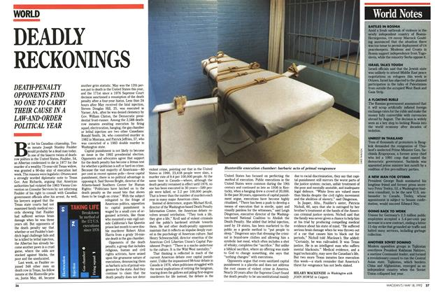 Article Preview: DEADLY RECKONINGS, May 1992 | Maclean's