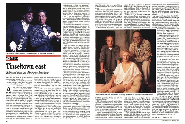Article Preview: Tinseltown east, May 1992 | Maclean's
