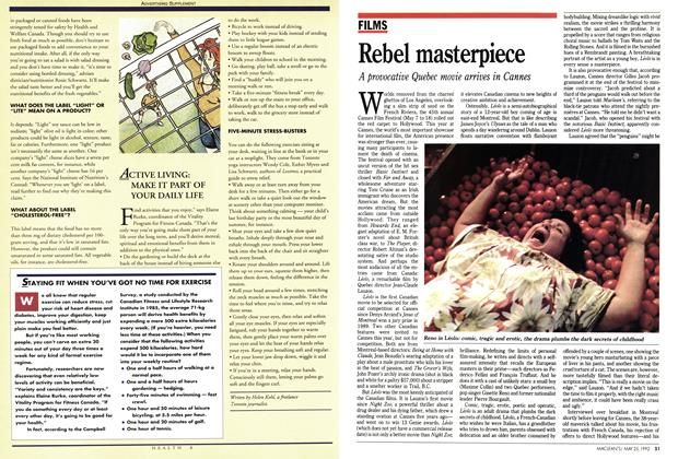 Article Preview: Rebel masterpiece, May 1992 | Maclean's
