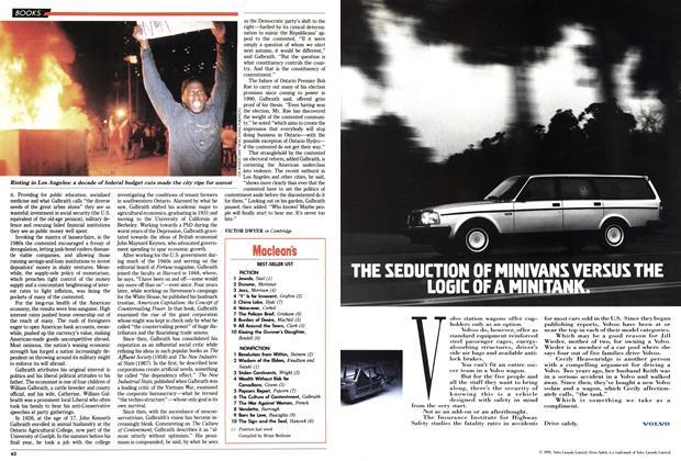 Article Preview: Maclean's BEST-SELLER LIST, May 1992 | Maclean's