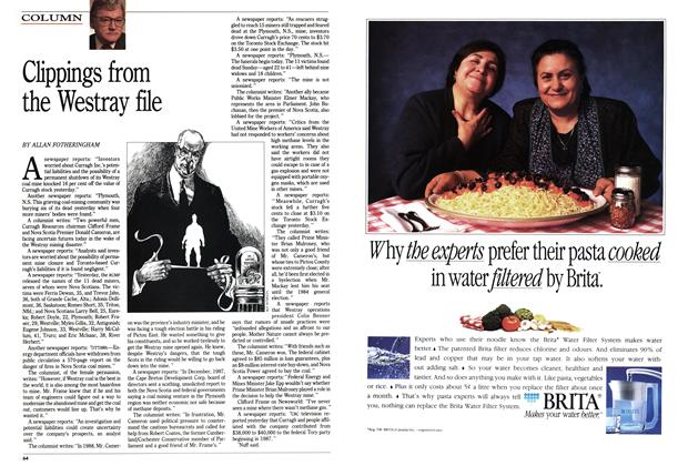 Article Preview: Clippings from the Westray file, May 1992   Maclean's