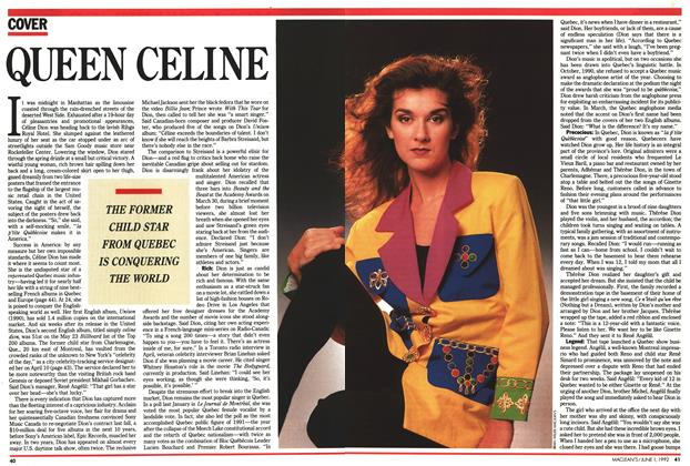 Article Preview: Queen Céline, June 1992 | Maclean's