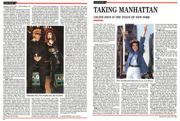 Article Preview: TAKING MANHATTAN, June 1992 | Maclean's
