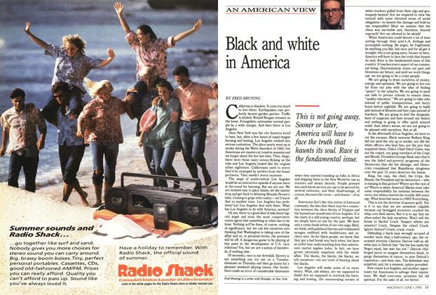 Article Preview: Black and white in America, June 1992 | Maclean's