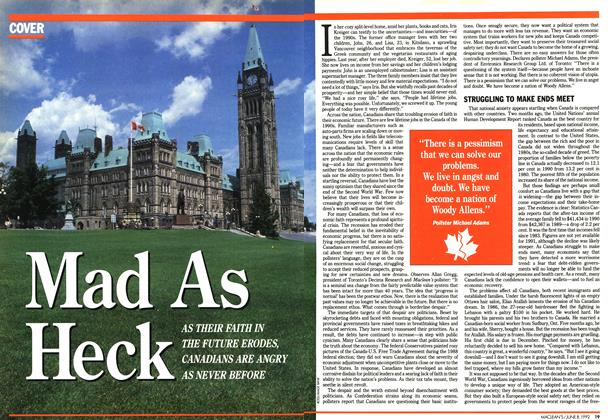 Article Preview: Mad As Heck, June 1992 | Maclean's