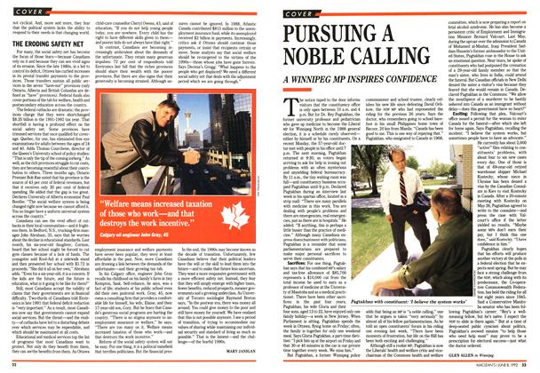 Article Preview: PURSUING A NOBLE CALLING, June 1992 | Maclean's