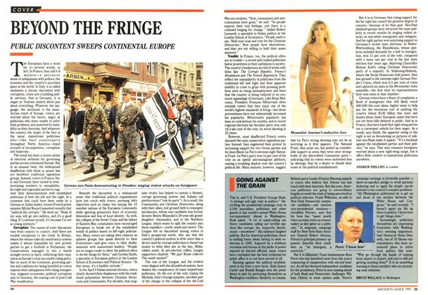 Article Preview: BEYOND THE FRINGE, June 1992 | Maclean's