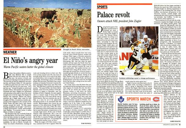 Article Preview: Palace revolt, June 1992 | Maclean's