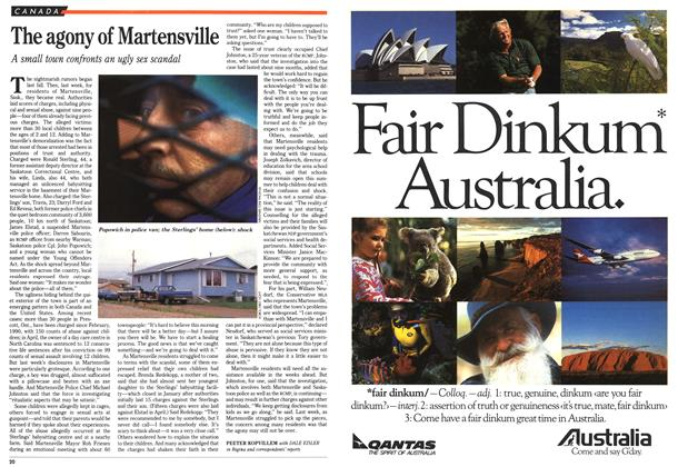 Article Preview: The agony of Martensville, June 1992 | Maclean's