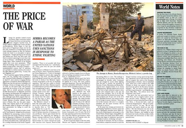 Article Preview: THE PRICE OF WAR, June 1992 | Maclean's