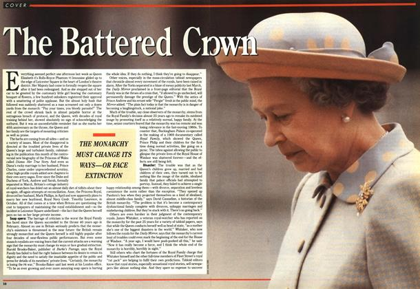 Article Preview: The Battered Crown, June 1992 | Maclean's