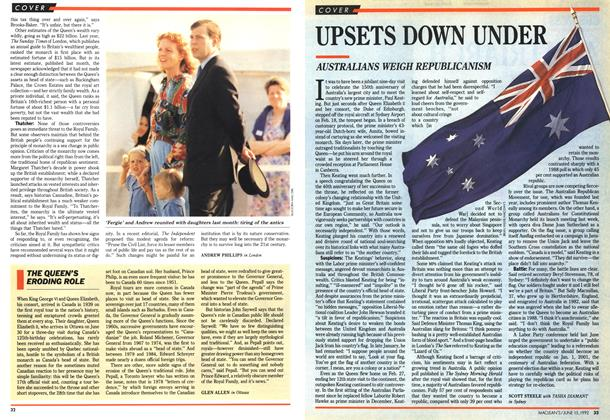 Article Preview: UPSETS DOWN UNDER, June 1992 | Maclean's