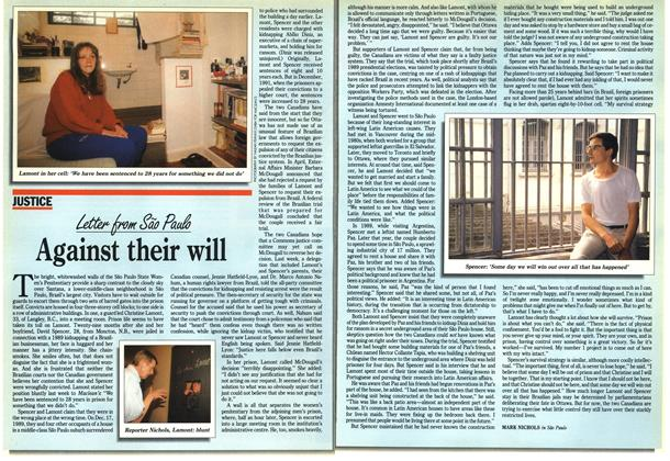 Article Preview: Against their will, June 1992 | Maclean's