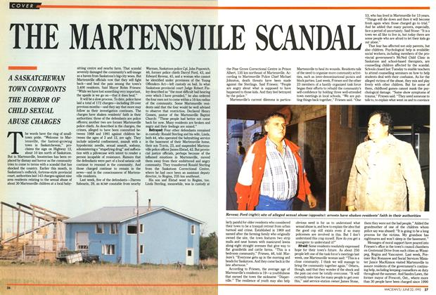 Article Preview: THE MARTENSVILLE SCANDAL, June 1992 | Maclean's