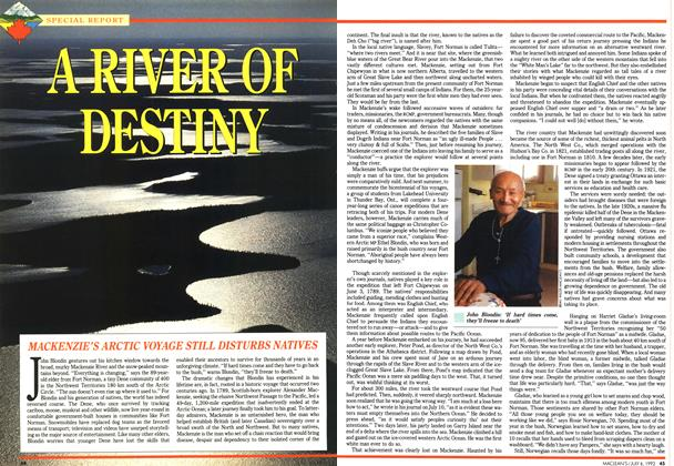 Article Preview: A RIVER OF DESTINY, July 1992 | Maclean's