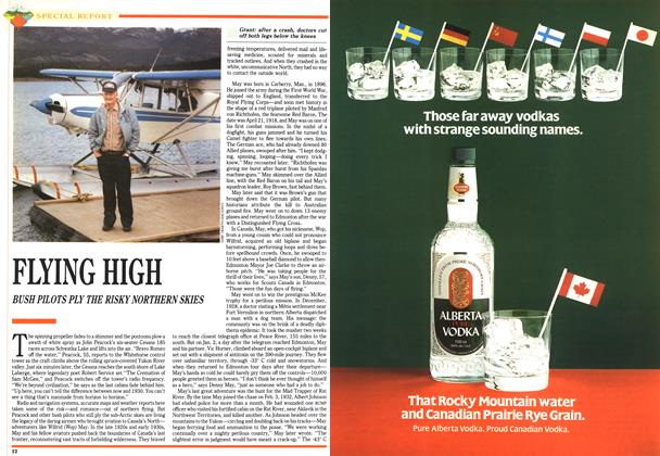 Article Preview: FLYING HIGH, July 1992 | Maclean's