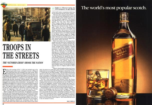 Article Preview: TROOPS IN THE STREETS, July 1992 | Maclean's