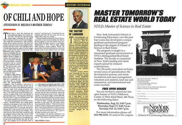 Article Preview: OF CHILI AND HOPE, July 1992 | Maclean's