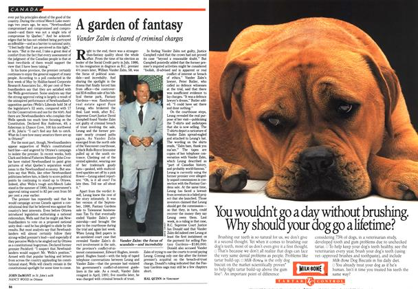 Article Preview: A garden of fantasy, July 1992 | Maclean's