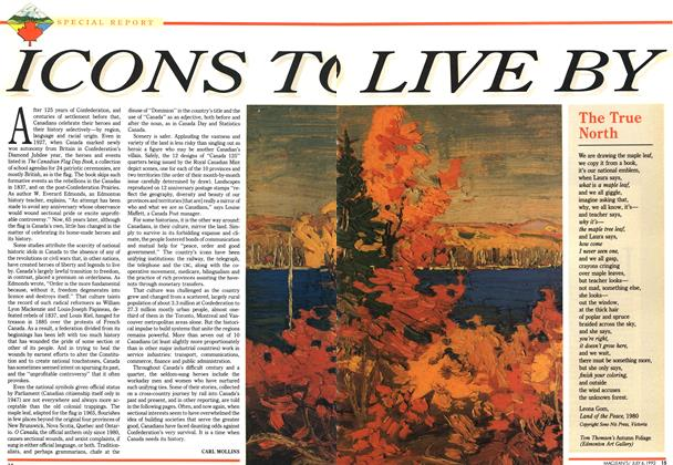 Article Preview: ICON TO LIVE BY, July 1992 | Maclean's