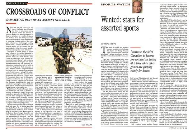 Article Preview: CROSSROADS OF CONFLICT, July 1992 | Maclean's