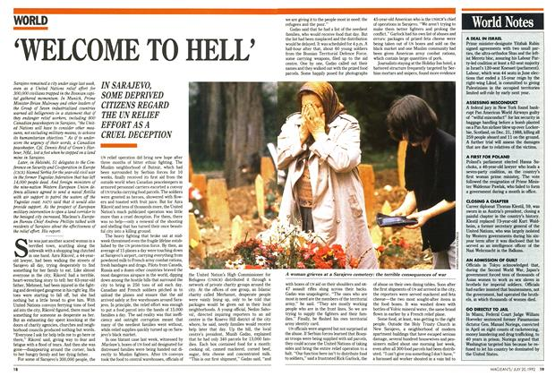 Article Preview: 'WELCOME TO HELL', July 1992 | Maclean's
