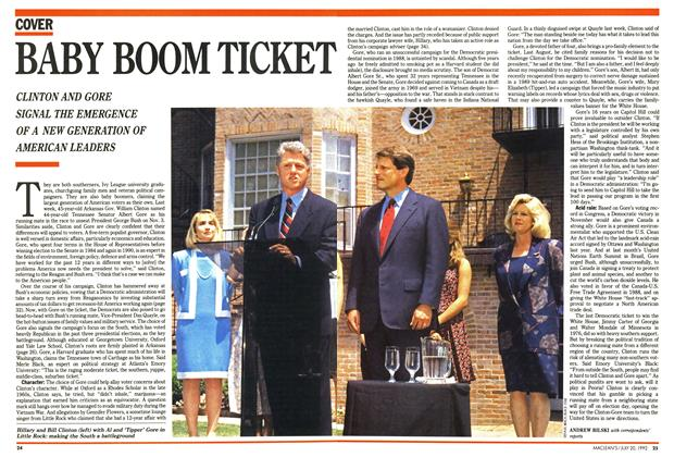 Article Preview: BABY BOOM TICKET, July 1992 | Maclean's