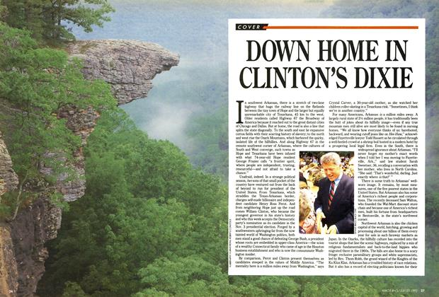Article Preview: DOWN HOME IN CLINTON'S DIXIE, July 1992 | Maclean's
