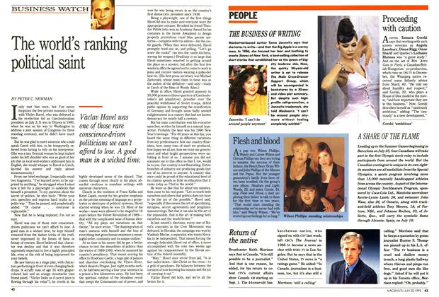 Article Preview: PEOPLE, July 1992 | Maclean's