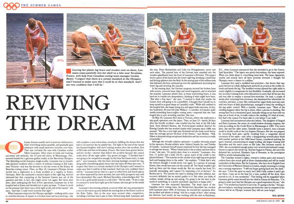 Article Preview: REVIVING THE DREAM, July 1992 | Maclean's