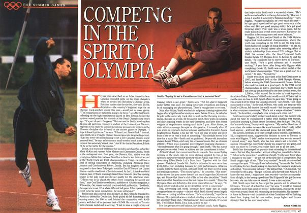 Article Preview: COMPETING IN THE SPIRIT OF OLYMPIAD, July 1992 | Maclean's
