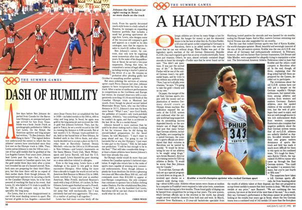 Article Preview: DASH OF HUMILITY, July 1992 | Maclean's