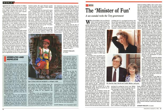 Article Preview: The 'Minister of Fun', August 1992 | Maclean's