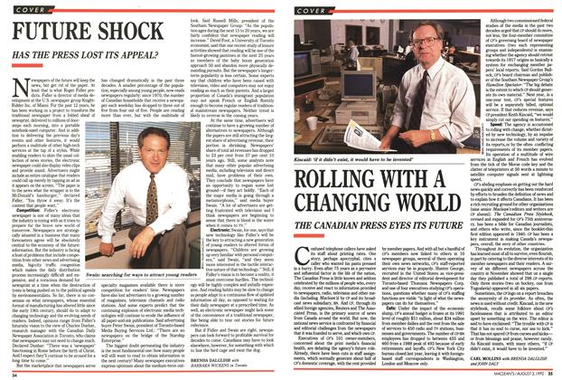 Article Preview: FUTURE SHOCK, August 1992 | Maclean's