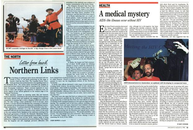 Article Preview: A medical mystery, August 1992 | Maclean's