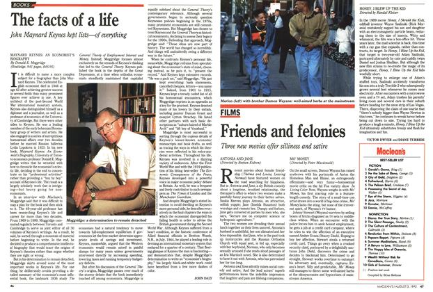 Article Preview: Friends and felonies, August 1992 | Maclean's