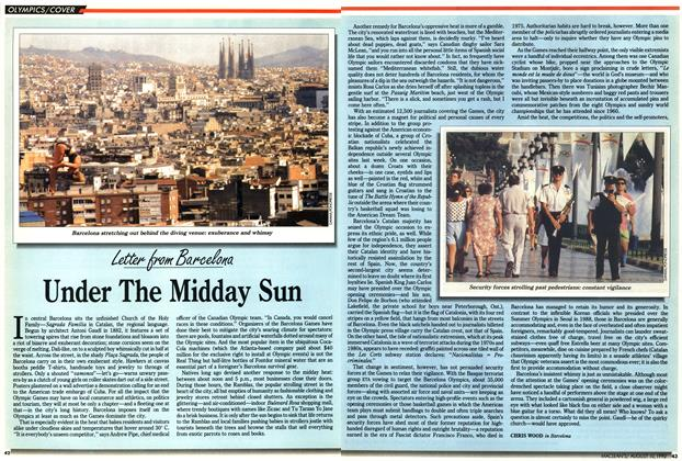 Article Preview: Under The Midday Sun, August 1992 | Maclean's