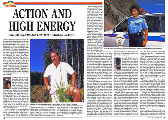 Article Preview: ACTION AND HIGH ENERGY, August 1992 | Maclean's