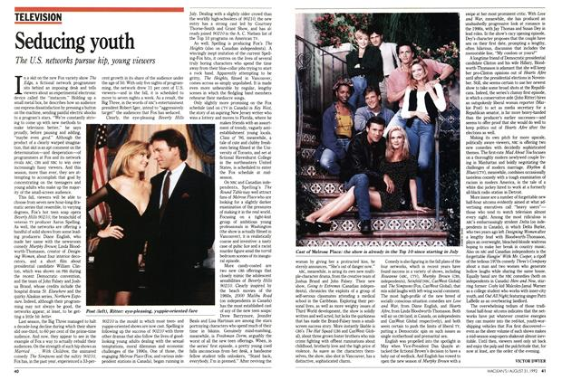 Article Preview: Seducing youth, August 1992 | Maclean's