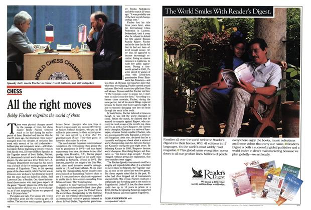 Article Preview: All the right moves, September 1992 | Maclean's